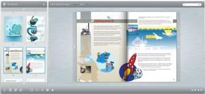europe flip book